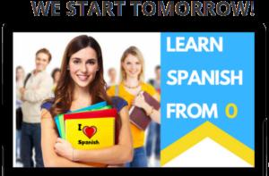 Learn Spanish We Start Tomorrow
